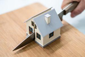 Scheidung mit Immobilien